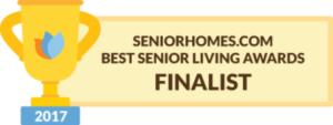 SeniorHomes.com Best Senior Living Awards Finalist